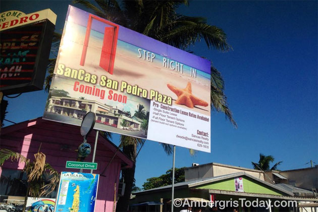 Sancas Realty Breaks Ground For San Cas Plaza Commercial Project On Ambergris Caye