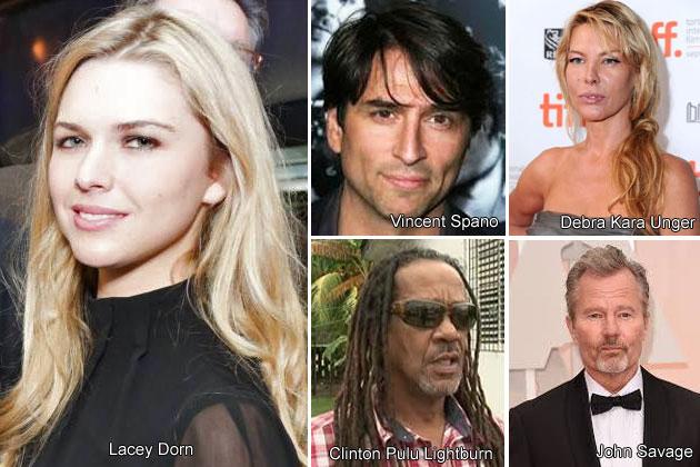 Local Belizean Cast in American Movie Filming in Belize