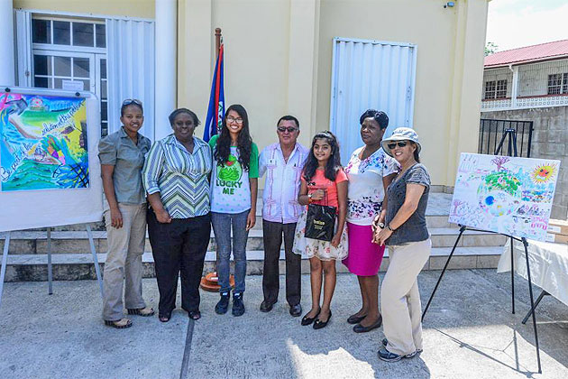 2015 FCCA Poster Competition Belize Winners