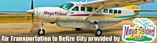 Maya Island Air Transportation to Belize City