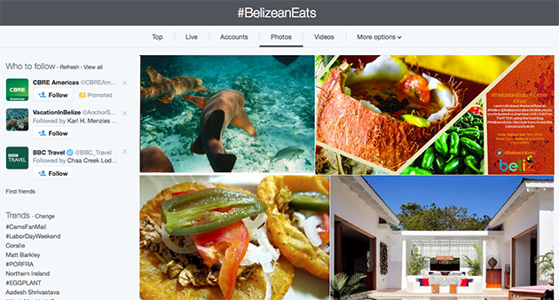 BTB Hosts Successful #BelizeEats Twitter Chat