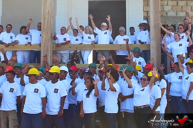 Mahogany Bay Village Celebrates Structural Completion of The Great House