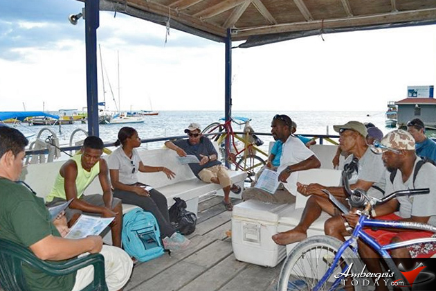 Island Tour Guides Freshen up on New Regulations as Hol Chan Marine Reserve Expands