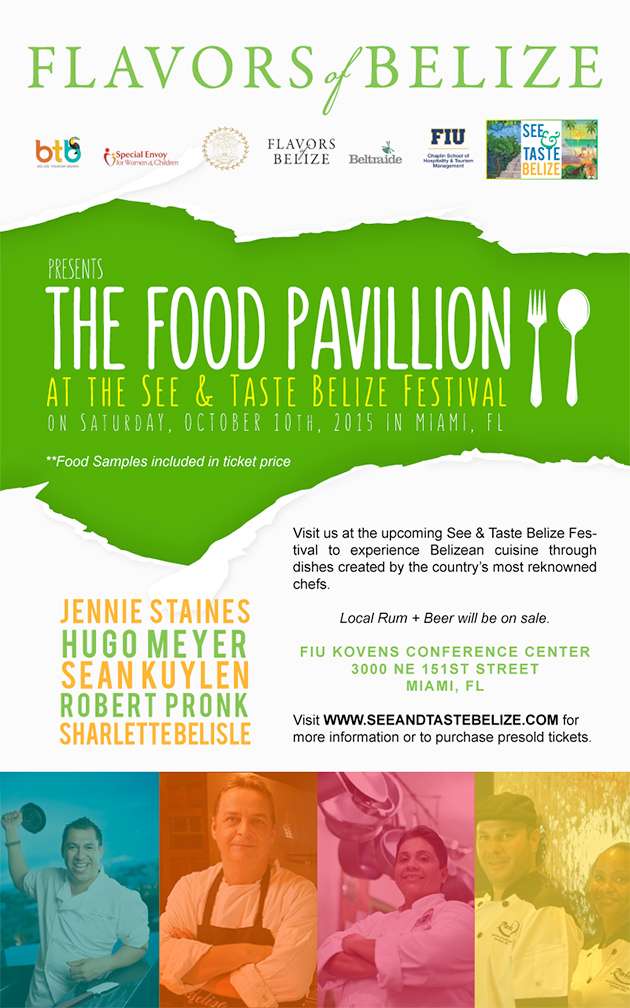 First See N Taste Belize Event Coming up in Florida