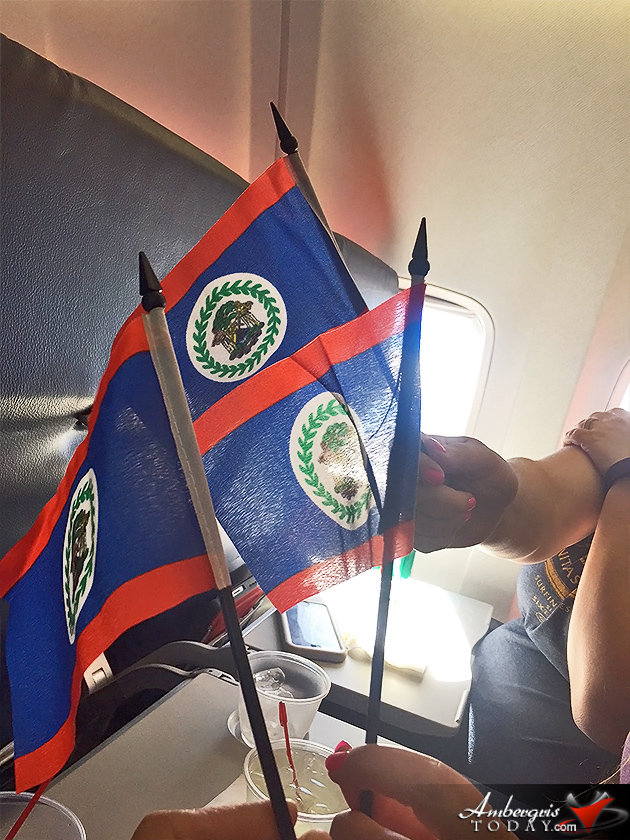 Southwest Airlines Inaugural Flight to Belize
