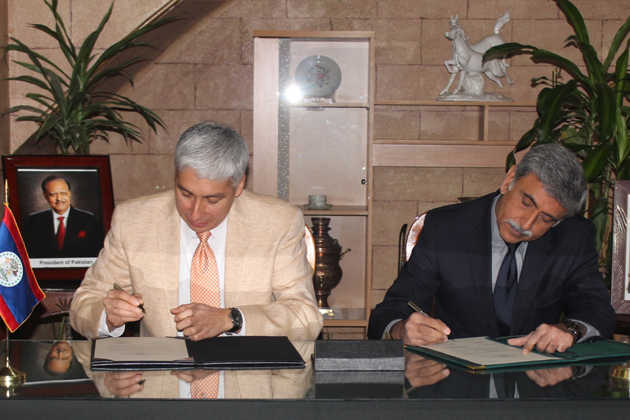 Belize And Pakistan Establish Diplomatic Relations