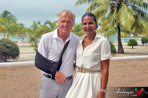 Pro Golfer Greg Norman to Trademark Caye Chapel Golf Course