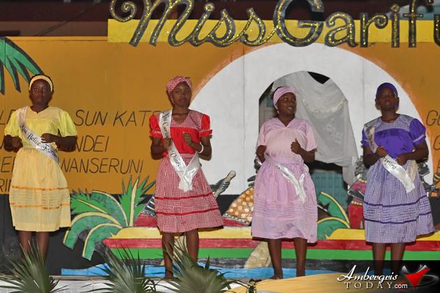 Sheila Montero is New Miss Garifuna San Pedro