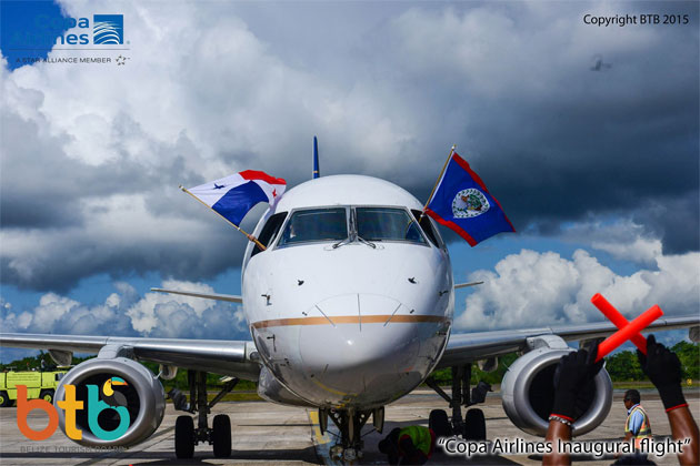 Copa Airline Inaugural Flight to Belize Connects To South American Market
