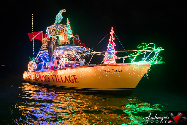 Christmas Lights at Sea Brighten San Pedro Holiday Boat Parade