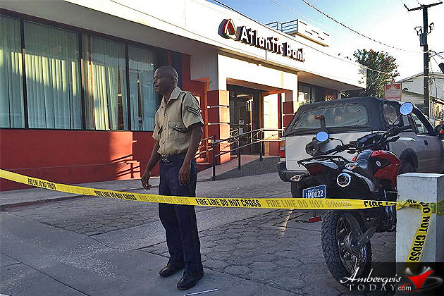 Bomb Scare at Atlantic Bank San Pedro