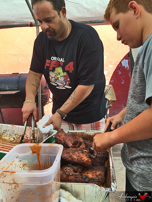 Estel's BBQ Ribs Cook-off
