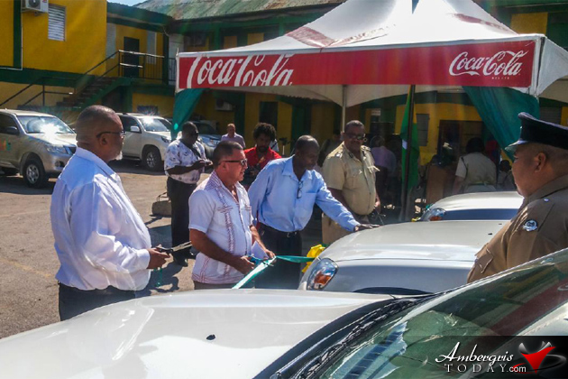 BTB Donates Vehicules to Belize Tourism Police
