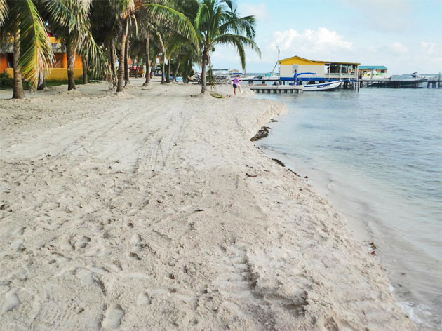 Island of Caye Caulker Boasting New Beaches