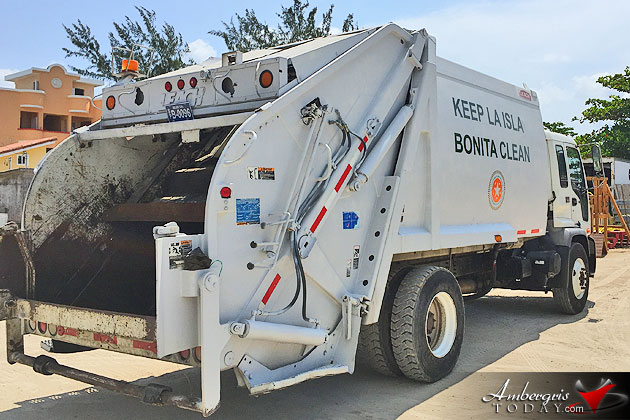 New Garbage Compactor Added to San Pedro Sanitary Fleet