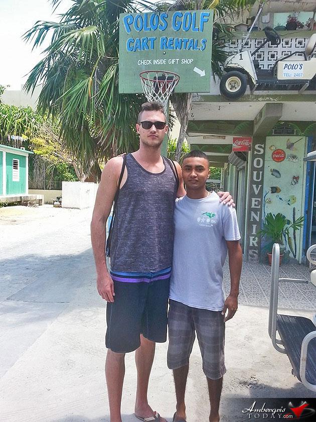 Celebrity Spotting NBA Star Danilo Gallinari Visits Ambergris Caye