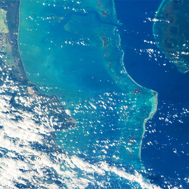 NASA Astronaut Jeff Williams Gives Belize the Ultimate Shoutout from Space