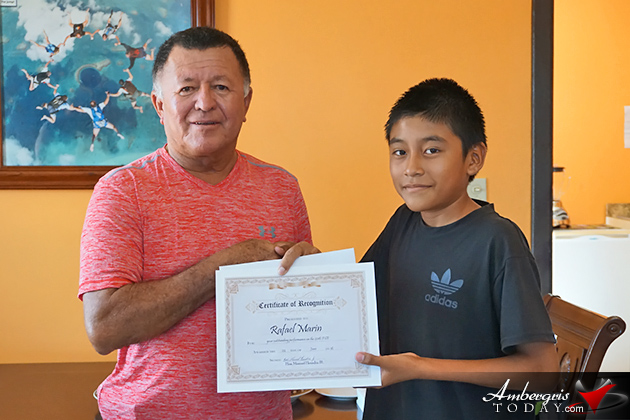 Hon. Manuel Heredia Jr. Awards Exceptional Youth