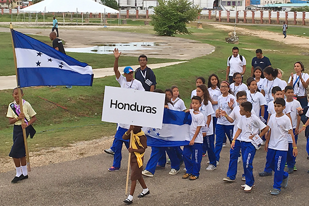 Young Performers, Athletes Make a Splash at CODICADER Opening Ceremony