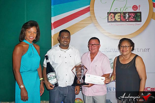 Chef Eva Longsworth Wins Belize Master Chef 2016 Title at Taste of Belize