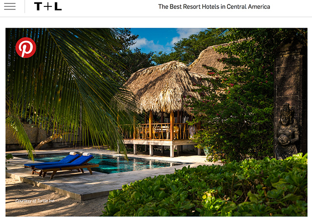 Belize On Top of Travel + Leisure World's Best Awards Survey