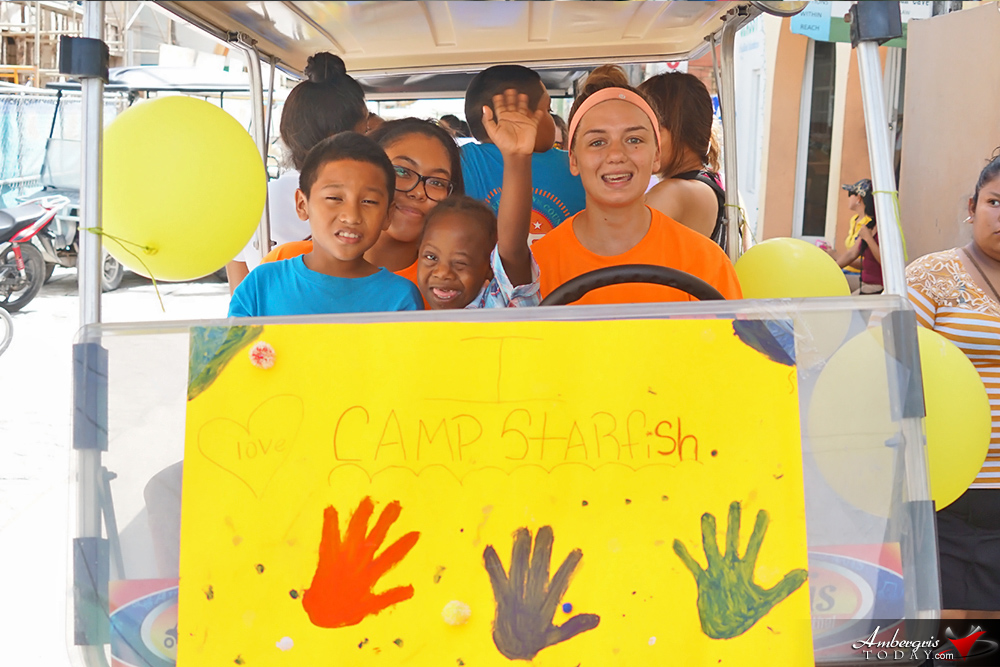 Camp Starfish Ends Summer Activities with Colorful Parade