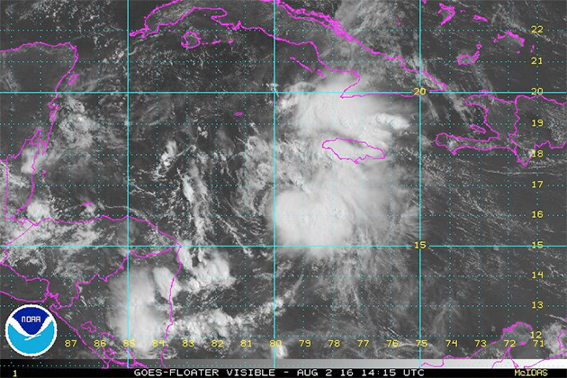 Strong Tropical Wave Expected to Become Tropical Storm Earl Later Today