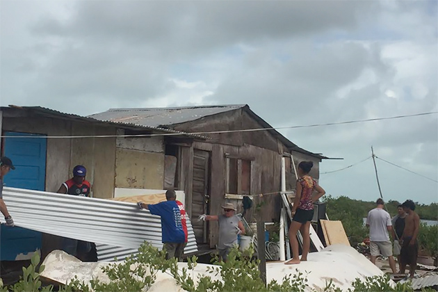 Hurricane Rebuild is Underway, Donations/Volunteers Needed