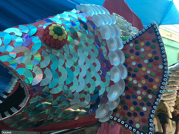 Fishy Art Heightens Awareness About Rising Tide of Pollutants