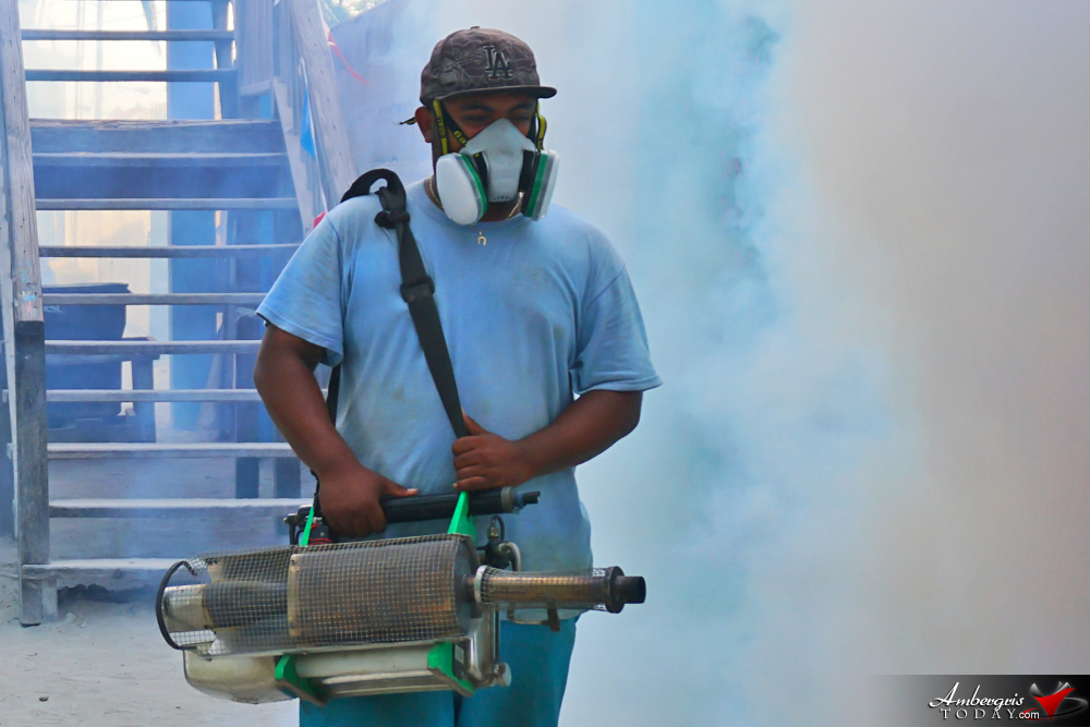 Island Schools Sprayed for Zika Prevention