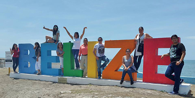 Mexican Travel Agencies Visit Belize on Fam Trip