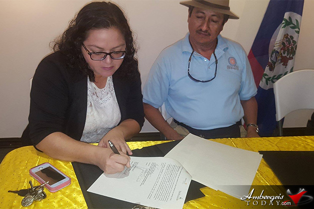 Witnesses sign memorandum of corporations