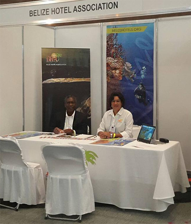 Belize Hotel Association Markets Members at Several Tradeshows
