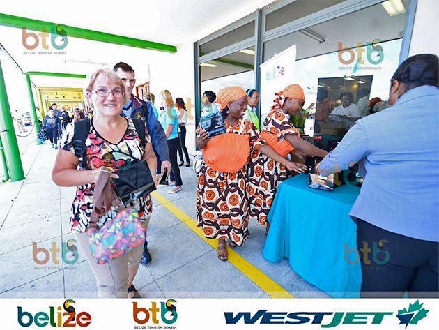 WestJet Touches Down in Belize, Direct Connection to Canada