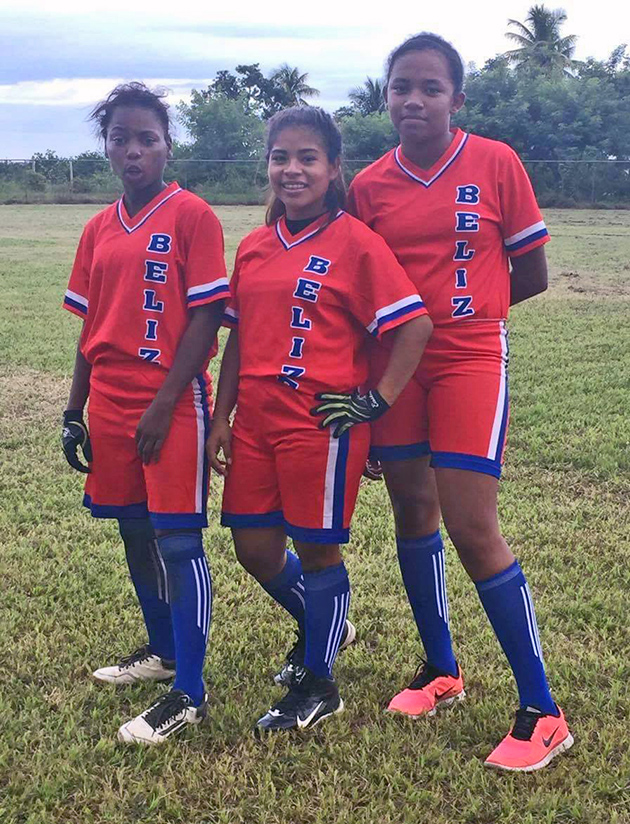 Belize Female Softball Team 2nd in Central American Games