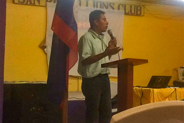 The San Pedro Town Council and CARILED Strategic Plan to make San Pedro a Green Environment