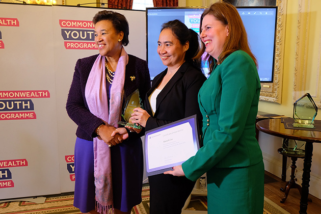 Belize Woman Wins Commonwealth Caribbean Youth Worker of the Year