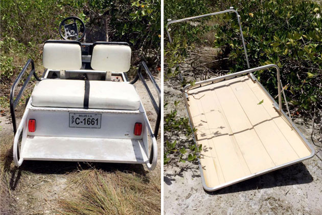 Police Warn of Increase in Island Golf Cart Theft