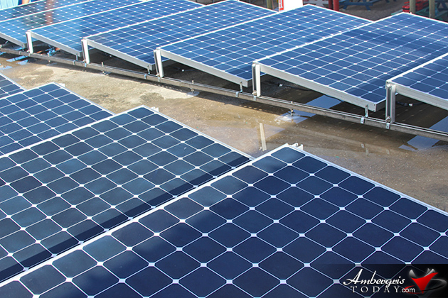 San Pedro R.C School Receives Solar Panels From Capoly University, California