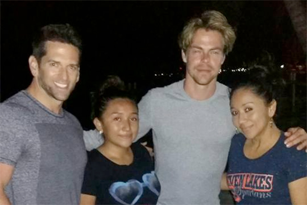 Celebrity Spotting: Dancing with the Stars Derek Hough in Belize