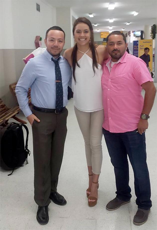 Rebecca Rath Miss Belize Universe 2016 Departs to Miss Universe PageantThe Natio