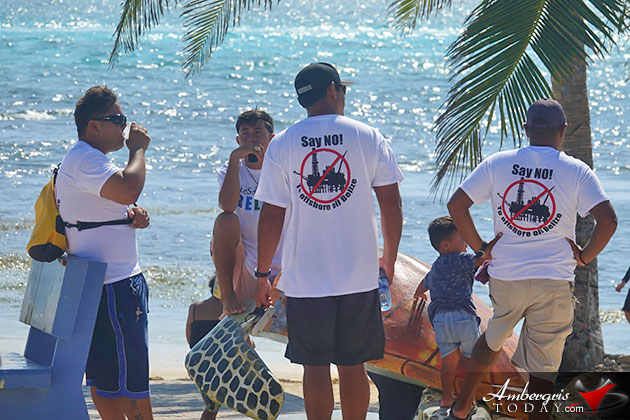 The Threat of Offshore Oil Exploration is Real, Belizeans Remain Proactive