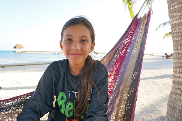 Eleven Year Old Blogger Madison Edwards to Snorkel Belize Barrier Reef for Awareness