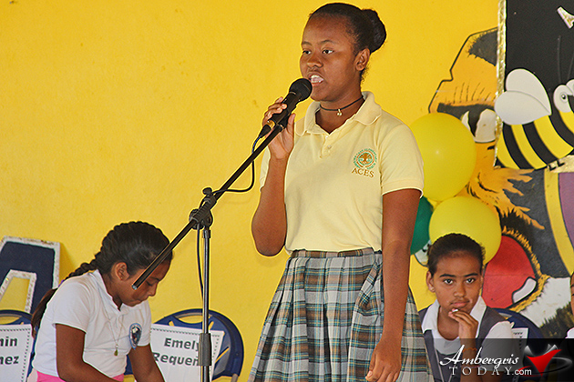 Aiesha Moriera Wins Zone 5 Spelling Bee Competition