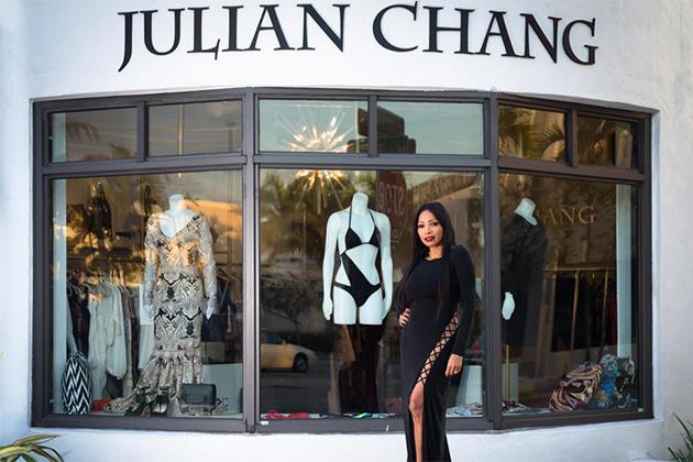 Belizean fashion Designer Char Tolentino Launches Swimsuit Line in Miami