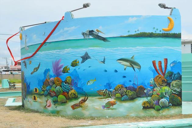 Ocean Mural Unveiled in San Pedro During Reef Week
