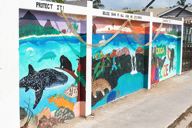 Ocean Mural Unveiled in San Pedro During Reef Week