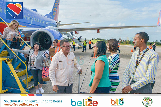Southwest Airlines Launches Direct Flights Between Belize and Denver, Colorado