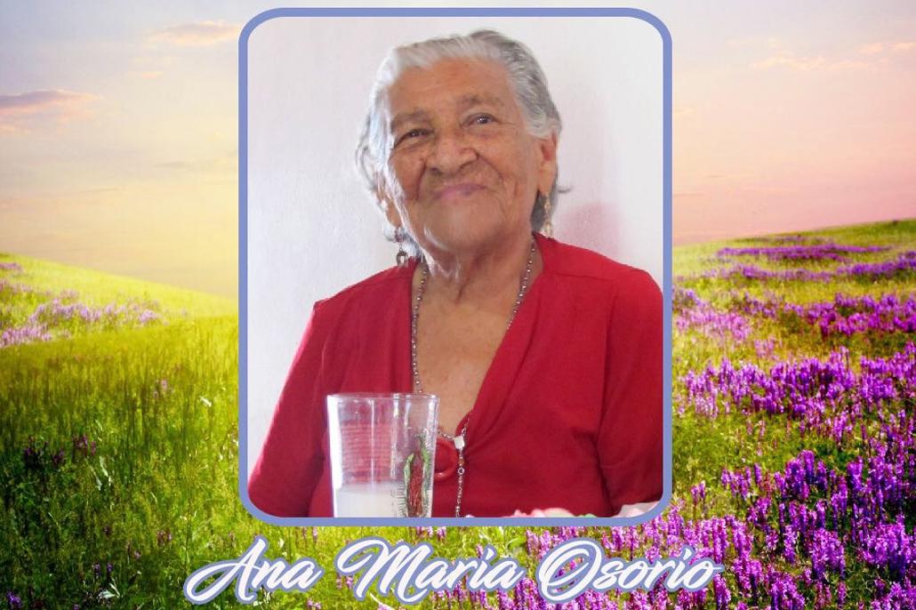 Goodbye to Ana Maria Osorio
