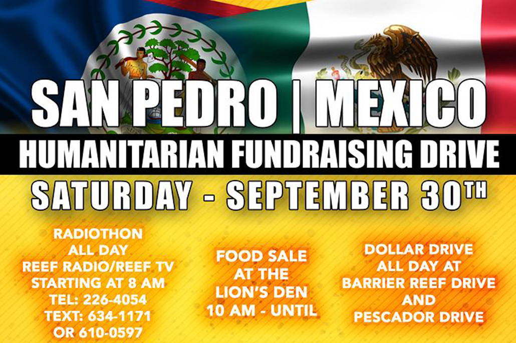 San Pedro / Mexico Humanitarian Fundraising Drive Earthquake Victims